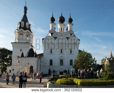 Murom, Russia - August 24, 2019: Cathedral Of The Annunciation Of The Blessed Virgin Mary In The Ann