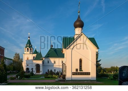 Murom, Russia - August 24, 2019:  Chapel Of St. George The Victorious In The Murom Transfiguration M