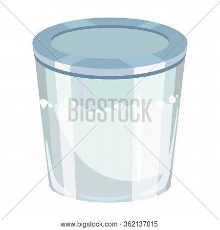 Capacity Flour Vector Icon.cartoon Vector Icon Isolated On White Background Capacity Flour.