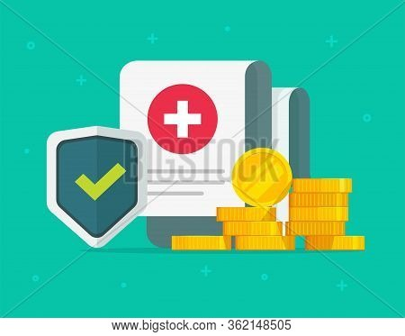 Medical Health Care Insurance Form Protection Or Medicare Healthcare Document Risk Claim Coverage Wi