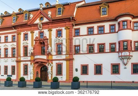 Building Of Former Governors Residence In Baroque Style, Erfurt, Germany
