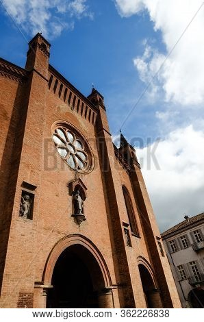 Saint Lawrence Cathedral Of Alba (piedmont, Italy)