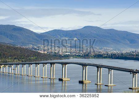 Tasman Bridge Derwent River