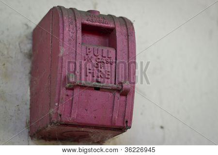 Vintage Fire Alarm Lever