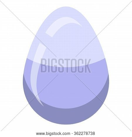 Goose Egg Icon. Isometric Of Goose Egg Vector Icon For Web Design Isolated On White Background