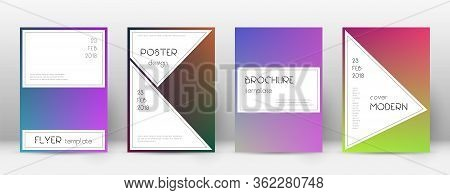 Flyer Layout. Stylish Exquisite Template For Brochure, Annual Report, Magazine, Poster, Corporate Pr