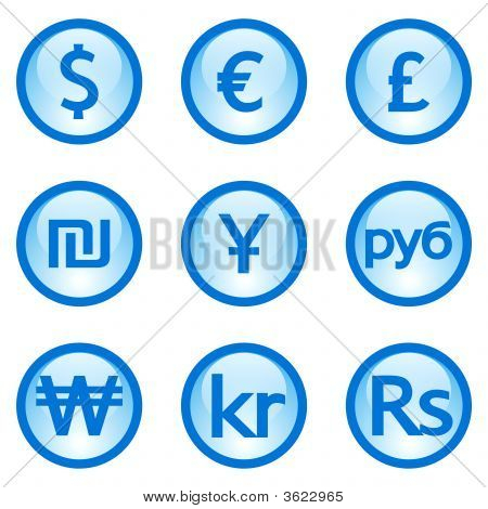 Currency Icons Image Photo Free Trial Bigstock