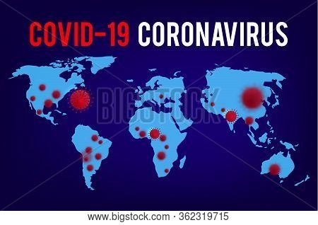 Breaking News. Wuhan. 2019-ncov. Test Tube Coronavirus Outbreak Abstract Banner. Breaking News Backg