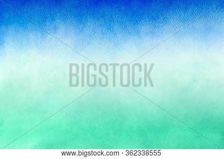 Blue Azure Turquoise And Green Abstract Watercolor Background For Textures Backgrounds And Web Banne