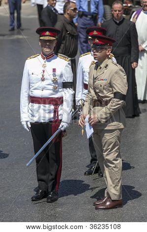 Dom Mintoff Funeral Malta