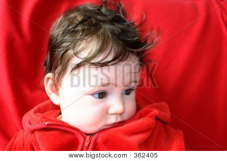 Baby In Red