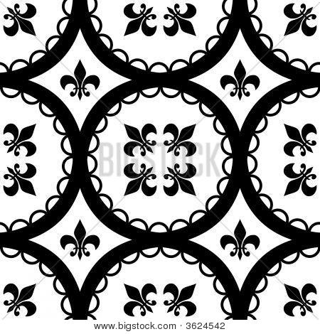 Fleur-De-Lis Tiles