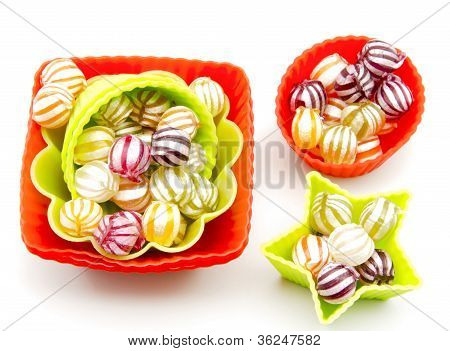Assorted fruit candies