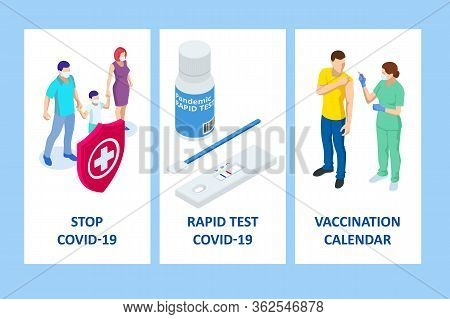 Medical Covid-19 Blood Express Test. Coronavirus Rapid Test.