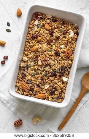 Homemade Roasted Granola