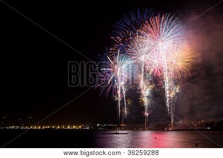 Fireworks in Salou