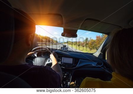 Roadtrip - Man Hands On The Wheel