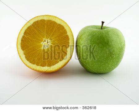 Orange And Green