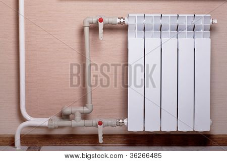 Radiator In A Room