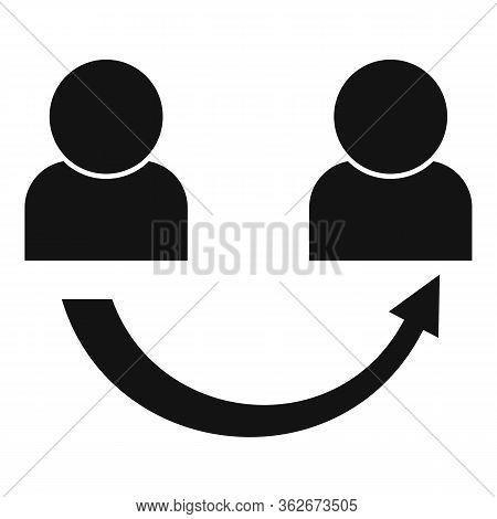 Partnership Referral Program Icon. Simple Illustration Of Partnership Referral Program Vector Icon F