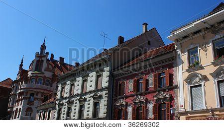 Maribor Main Square - Facades