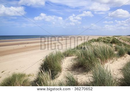 Sand Dunes Holkham Beach North Norfolk
