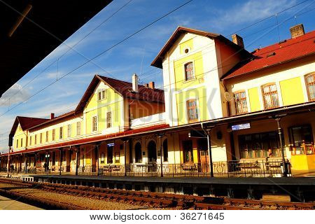 Railway station in Czech Republic