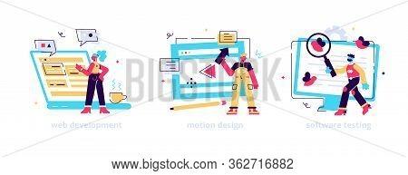 Website Programming And Coding. Computer Animation Designer. Bug Fixing. Web Development, Motion Gra