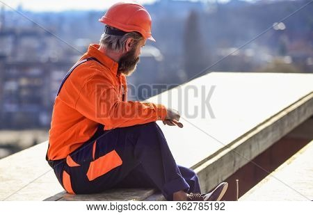 Install Partially Overlapping Layers Of Material Over Roof Insulation Surfaces. Master Repair Roof.