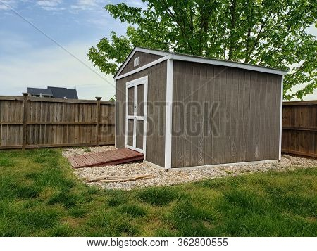 Backyard Garden Shed or Tool Shed