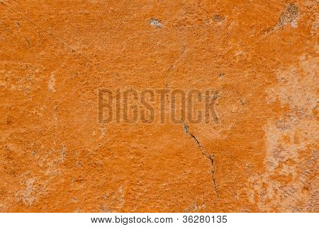 Orange Wall Wallpaper