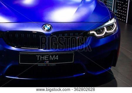 Bmw M4, Bmw Welt, Munich, Germany, March 2020