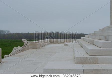 Vimy Ridge, Arras, France: Nov 19, 2012: The Canadian National Memorial Of Vimy Ridge Commemorates O