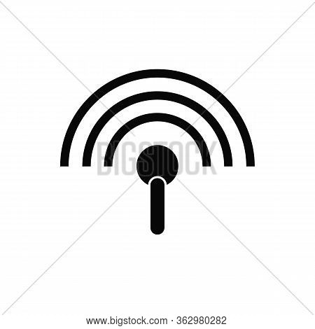 Free Wifi Symbol Icon For Wireless Device Connection.