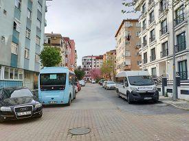 Istanbul - Apr 19, 2020: Millions In Turkey Under Coronavirus Lockdown As Major Cities Restrict Dail