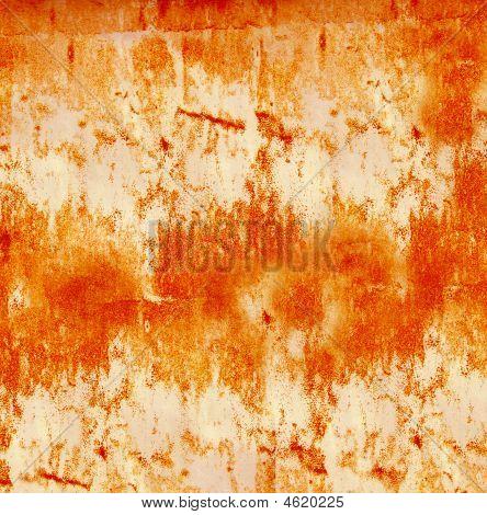 Burnt Orange Grunge Background
