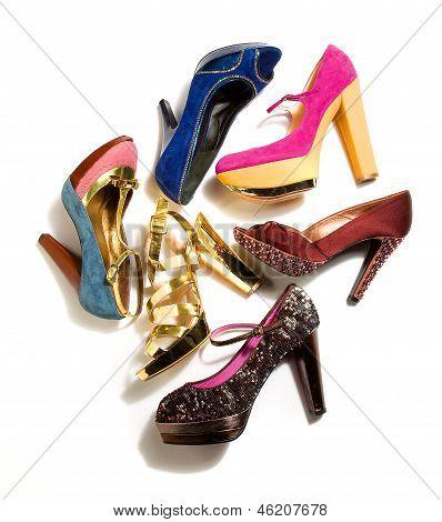 High Heels Fashion Composition