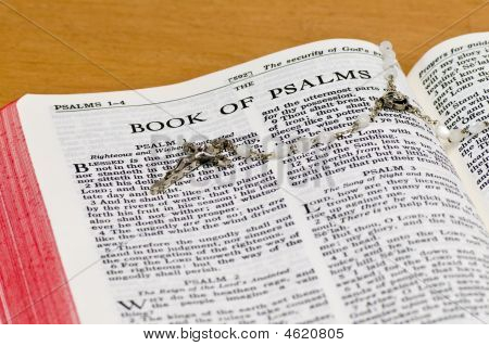 Rosary Bible Page - Psalms