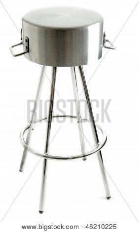 Saucepan Metal Stool