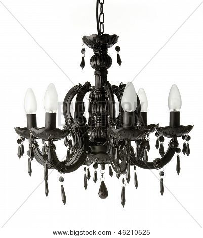 Black Hanging Chandelier