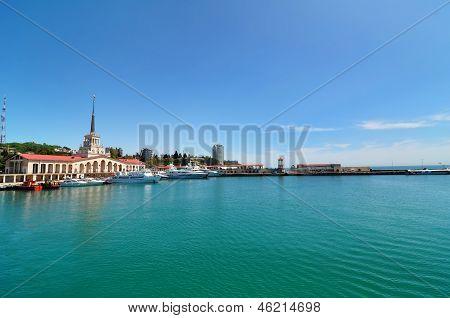 Sochi city marina