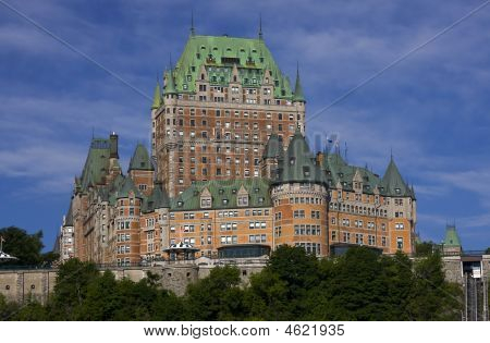 Chateau Frontenac In Quebec City, Canada
