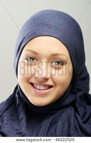Young Arabic beautiful female portrait