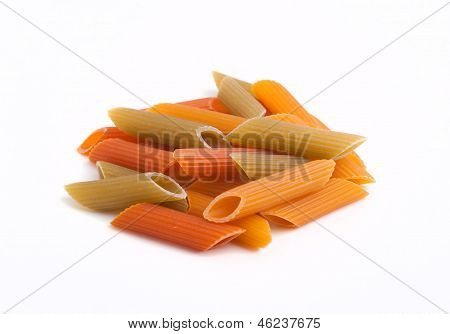Pasta On White Background