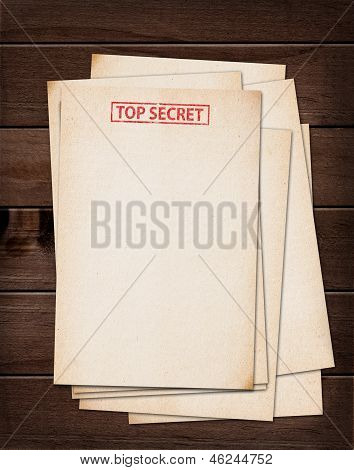 Top Secret Files.