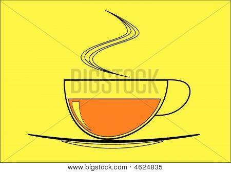 Morning Cup Of Black Tea