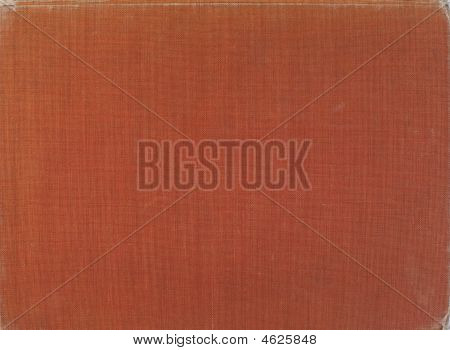 Old Natural Terracotta Fabric Background