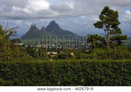 Hill In Trou Aux Cerfs Mauritius