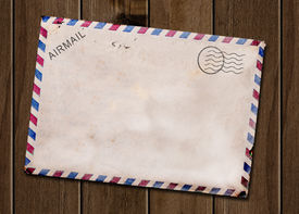 Old Blank Post Card.