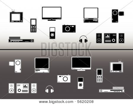 Electronic devices.